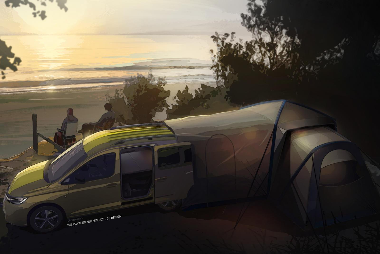 Volkswagen's New Mini-Camper Is For The Adventurous