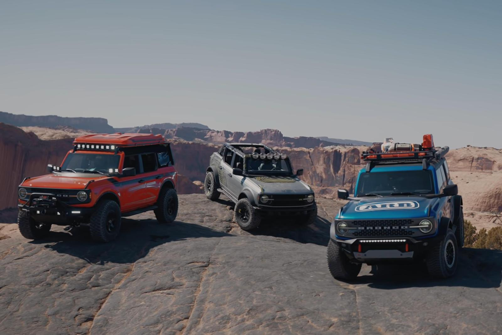 Watch A 2021 Ford Bronco Climb Hell's Gate With Stock Suspension
