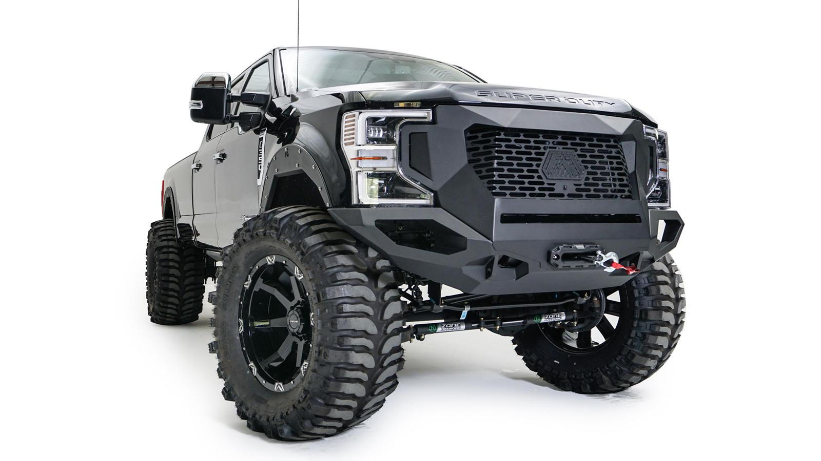 Ford Super Duty Gets Angry New Face