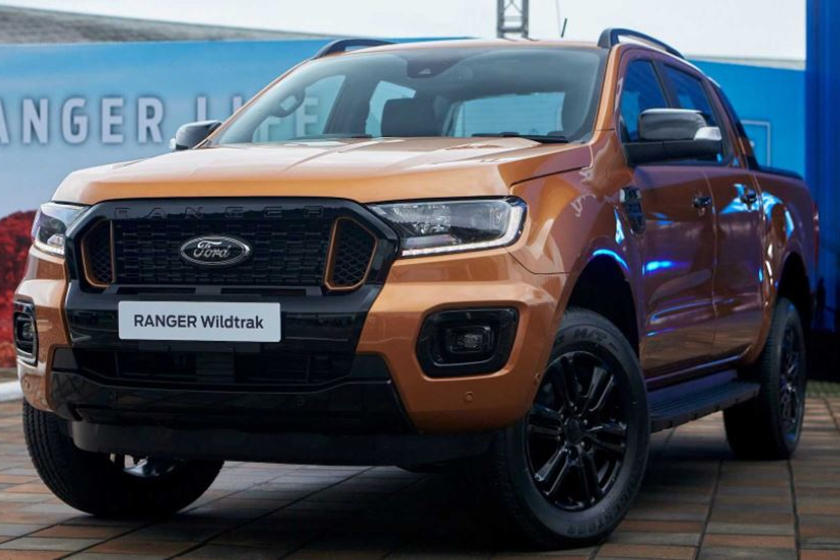 The Ford Ranger Gets Another International Facelift