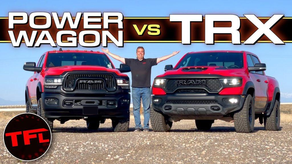 Ram Power Wagon vs. TRX: Which Truck Would YOU Buy For $71K?