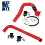 HSP Diesel 082-HSP-BR Blood Red Intercooler Charge Pipe Bundle