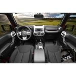 Rugged Ridge 11152.90 Manual Brushed Silver Interior Trim Accent Kit
