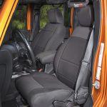 Rugged Ridge 13295.01 Black Seat Cover Kit