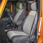 Rugged Ridge 13295.09 Black/Gray Seat Cover Kit
