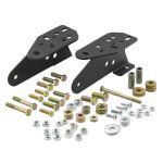 Smittybilt 2812 Front Textured Matte Black Bumper Adapter