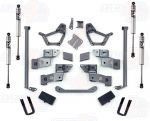 Pro Comp K5055B/K5055BMX 4'' Stage II Lift Kit w/ Rear 2.5 U-Bolts Fits 4WD