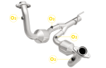 MagnaFlow 49070 EPA Compliant Direct Fit Catalytic Converter