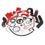 HSP Diesel 513-1-HSP-BR Blood Red Over Stock Twin Kit No Turbo Factory Battery Location
