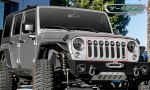 T-Rex 6314841 Black 1-Pc Torch Series  Formed Mesh Main Grille with 7 x 2