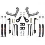 Readylift 69-3514 3.5'' SST Lift Kit Front with 2'' Rear with Fabricated Control Arms with SST3000 Shocks