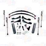 Pro Comp K4166BMX 6'' Lift Stare I w/Rear Leaf Springs Kit & Fox Shocks
