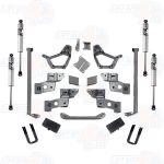 Pro Comp K5055BMX 4'' Stage II Lift Kit w/ Rear 2.5 U-Bolts & Fox Shocks