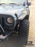 MCE Fenders FFJKG2-N Front and Rear Narrow Width Gen II
