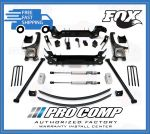 Pro Comp K5078BMX 6'' Lift Kit w/Front MX2.75 Coilovers and Rear Fox Shocks