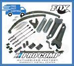 Pro Comp K4041BMX 6'' Lift Stage II w/Rear Leaf Springs & Fox Shocks