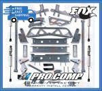Pro Comp K1109B/K1109BMX 6'' Bracket System Vehicles w/Stamped Lower Arms Fits Fits 4WD