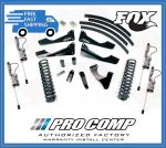 Pro Comp K4155BMXR 8'' Stage I w/Rear Leaf Springs & Fox Resi Shocks
