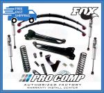 Pro Comp K4158B/K4158BMX/K4158BMXR 8'' Stage II Lift Kit w/Rear Leaf Springs
