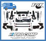 Pro Comp K2075BMX 6'' Pro Runner Lift Kit w/MX2.75 Coilovers and Rear Pro Runner Shocks