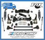 Pro Comp K4143BMX 6'' Lift Kit w/Front MX2.75 Coiloves/Rear Fox Shocks Fits 4WD