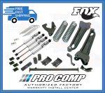 Pro Comp K4032BMX 6'' Lift Stage II w/Blocks and Add-A-Leafs & Fox Shocks