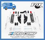 Pro Comp K2092BMX 4'' Lift Radius Arm Kit w/Fox Shocks