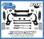 Pro Comp K4167BMXR 6'' Lift Stage II w/Rear Leaf Springs & Fox Resi Shocks