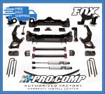 Pro Comp K5080B/K5080BPS/K5080BMX/K5080BPX 6'' Lift Kit w/Vehicle Stability Control Fits 4WD