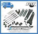 Pro Comp K4032B/K4032BP/K4032BMX/K4032BMXR 6'' Lift Stage II w/Blocks and Add-A-Leafs Fits 4WD