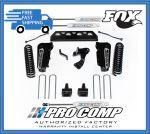 Pro Comp K2089BMX 4'' Stage I Radius Arm Drop Lift Kit w/Fox Shocks