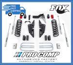 Pro Comp K2090B/K2090BMX 4'' Stage I Radius Arm Drop Brackets Lift Kit