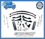 Pro Comp K4166BP 6'' Lift Stare I w/Rear Leaf Springs Kit & Pro Runner Shocks Fits Fits 4WD