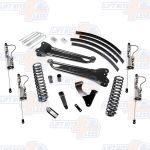 Pro Comp K4181B 6'' Lift Kit Stage I w/Rear Blocks and Add-A-Leafs & ES Shocks 4WD