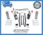 Pro Comp K2074B 6'' Long Arm Lift Kit w/ES Shocks Fits 4WD