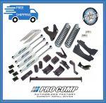 Pro Comp K4037B/K4037BP/K4037BMX 6'' Stage I w/Blocks and Add-A-Leaf Lift Kit Fits 4WD