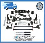 Pro Comp K4143BPS 6'' Lift Kit w/Front Strut Spacers & Front/Rear Pro Runner Shocks Fits Fits 4WD