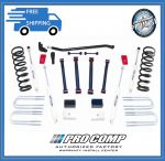 Pro Comp K2066B 4-Link Stage II 6'' Full Suspension Lift Kit