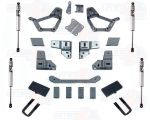 Pro Comp K5054BMX 4'' Stage I Lift Kit w/ 2.5 Rear U-Bolts & Fox Shocks