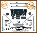Rubicon Express RE7532 Extreme-Duty Long Arm Rear Tri-Link Suspension Upgrade Kit