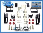 Pro Comp 72101B Traction Bar Bracket Mount for 11-016 Ford F-250/F-350 Super Duty